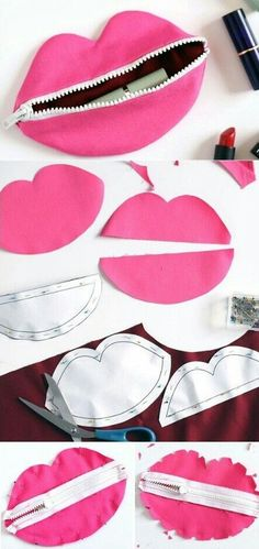 As you all know, I love quick sewing projects. Small and fast beginner sewing projects is … Sewing Hacks, Sewing Tutorials, Sewing Crafts, Sewing Patterns, Diy Crafts, Ideas Paso A Paso, Purse Tutorial, Creation Couture, Blog Couture