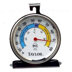 Taylor Food Service Classic Series Freezer-Refrigerator Thermometer, Large Dial (Kitchen)  http://www.99homedecors.com/  B000BPE88E