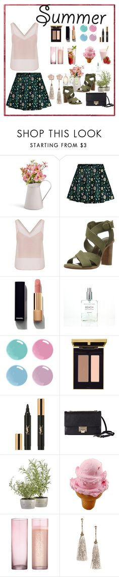 """""""End Summer ...."""" by arara-sustentavel ❤ liked on Polyvore featuring WtR London, Joie, Chanel, Yves Saint Laurent, Jimmy Choo, Juliska, Disney and CB2"""