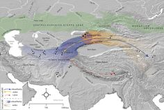 Early agriculture and crop transmission among Bronze Age mobile pastoralists of Central Eurasia Viking Food, Royal Society, Science Biology, Historical Maps, Bronze Age, Ancient Rome, Pretty Cool, Prehistoric, Agriculture