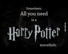 my-harry-potter-generation:  Harry Potter marathon right now!!!