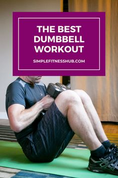 From Renegade Rows to Shoulder Shrugs, we're sharing 12 of the best dumbbell exercises you should add into your workout routine today. Upper Body Dumbbell Workout, Dumbbell Workout Routine, One Arm Dumbbell Row, Best Dumbbell Exercises, Biceps Workout, Weight Lifting Workouts, Toning Workouts, Fun Workouts, Workout Ideas