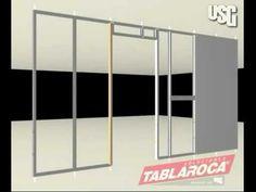 Instalación de muro interior con sistema Tablaroca® - YouTube