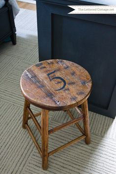 Stool | The Lettered Cottage