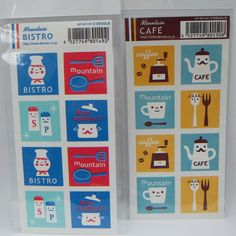 decole stickers by print & pattern, via Flickr