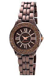Chocolate and Rose Anne Klein watch