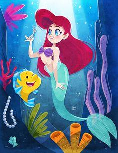 The Little Mermaid by Kimi-mo on DeviantArt