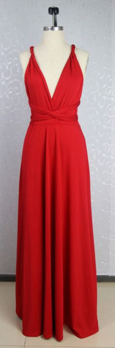 Red Prom Dresses,Chiffon Evening Dr