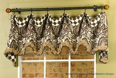 Custom Made to Order Cuff Top Valance by AudreysHandMade on Etsy, $98.00 www.audreyshandmade.etsy.com