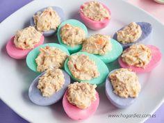Hogar diez: Huevos de colores