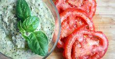 Recipe: White Bean Basil Hummus - Dairy free source of calcium.