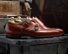 @CrockettJones   Gower II in Black and Chestnut Burnished Calf. A rare, full brogue double buckle monk style with silver buckles and detail a plenty. AW17 Collection. #crockettandjones #shoes #Elegance #Fashion #Menfashion #Menstyle #Luxury #Dapper #Class #Sartorial #Style #Lookcool #Trendy #Bespoke #Dandy #Classy #Awesome #Amazing #Tailoring #Stylishmen #Gentlemanstyle #Gent #Outfit #TimelessElegance #Charming #Apparel #Clothing #Elegant #Instafashion #shoeporn #instashoes