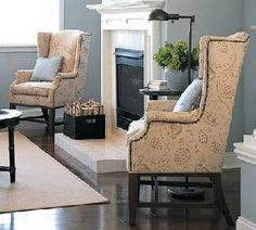 Wingback chair ideas