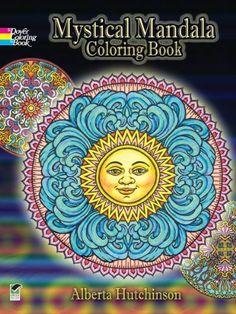 Mystical Mandala Coloring Book (Dover Design Coloring Books)  Free coloring book pages on this site