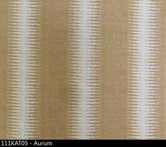 """Peter Dunham """"Ikat"""" in Aurum Textile Prints, Textiles, Peter Dunham, Striped Upholstery Fabric, Ikat, Hand Weaving, Detail, Fabrics, Manchester Street"""