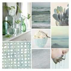 """Shades of Blue // Contest"" by mandalore ❤ liked on Polyvore featuring art"