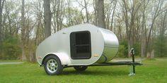 standard features and specifications for Little Fox teardrop camper trailer - Little Fox Teardrop Camper