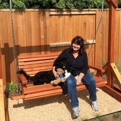 The finest best built Bench Swing Sets on the market. These lovely garden bench swings are truly built to last decades in any weather. Outdoor Patio Swing, Outdoor Decor, Outdoor Furniture, Bench Swing, Wooden Swings, Swing Sets, Best Build, Pergola Kits, Patio Ideas
