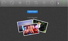 Photo editor modificare un immagine
