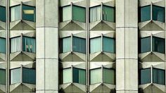 Concrete precast panels at OISE building, Toronto, 1961. From Concrete Ideas: Material To Shape A City, Oscar Riera Ojeda Publishers (Brian ...