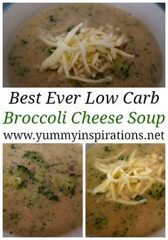 Best Broccoli Cheese Soup Recipe - Easy Low Carb Keto Broccoli Soup