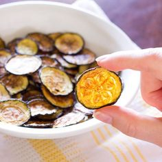Salt and Vinegar Zucchini Chips - The Wholesome Dish