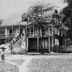 La casa de un hacendado en Guayama, Puerto Rico (c1900)