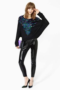 MinkPink Glam Rock Sequin Knit | Shop Lookbooks-The-Party-Shop-LIGHT-IT-UP at Nasty Gal