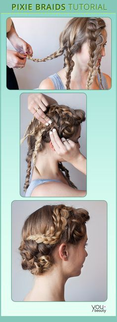 DIY Hair Tutorial: Master a Perfect Pixie Braid