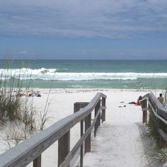 Pensacola, Florida. Pretty beaches :)