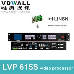 845.00$  Watch now - http://ali1yi.worldwells.pw/go.php?t=32779193192 - vdwall lvp615S+1 pc linsn sender ts802 video processor scaler PRICE led video wall controller transmitting card le