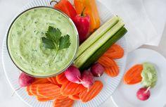 Healthy Green Goddess Dip Recipe