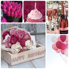 Algo así❤️ Happy Birthday Clip Art, Happy Birthday Woman, Birthday Collage, Birthday Clips, Happy Birthday Flower, Birthday Cheers, Belated Birthday, Happy Birthday Cards, Birthday Fun