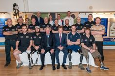 Prince Harry with Row 2 Recovery and British Rowing
