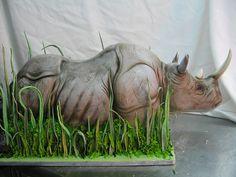 Rhino Cake by Karen Portaleo/ Highland Bakery, via Flickr