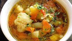Ciorba de legume – ciorba de post New Recipes, Soup Recipes, Vegan Recipes, Cooking Recipes, Romanian Food, Soup And Salad, Food Videos, Quiche, Main Dishes