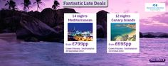 Fantastic Late Deals with @Princess Cruises  , Prices from £695.00pp! #CruiseDeals #Cruise #CruiseChat