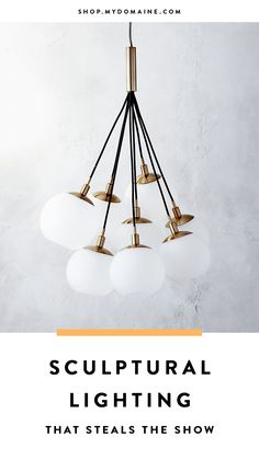 We all have a pendant or two that could use a refresh, or a corner in our homes that's just a little too dark. Brighten up your life with these show-stopping lighting picks.