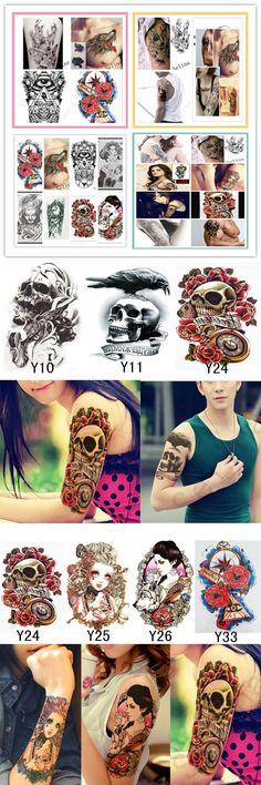 4e960d109 [Visit to Buy] Body Art Beauty Makeup Cool Green Japanese Carp Tattoo 15D  Waterproof Temporary Tattoo Stickers #Advertisement | Makeup | Pinterest |  Makeup