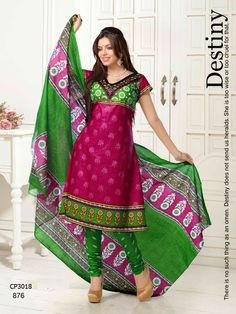 Latest Fashionable simple salwar kameez Wholesaler,Supplier,Exporter,Stockist and Manufacturer,Bollywood Celebrity Replica Anarkali Suit Dress materials,Readymade Designer Punjabi Wedding collection,Casual Printed Long Cotton exclusive party wear,best price sale tradditional indian womens clothes Churidar Suits, Anarkali Suits, Salwar Kameez, Suit Fabric, Fabulous Dresses, Bollywood Celebrities, Cotton Style, Cotton Dresses, Party Wear
