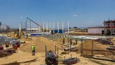 A new factory being constructed and developed in the Johannesburg area. A 17, Hd Video, High Quality Images, Stock Footage, South Africa, Construction, Building, Hd Movies