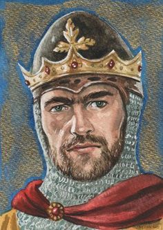 Robert the Bruce, King of Scotland.