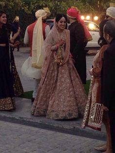 Fashion Designer Rishi Mehra wears http://www.sabyasachi.com/ for her wedding w/ Akshay Sekhri, Feb, 2015