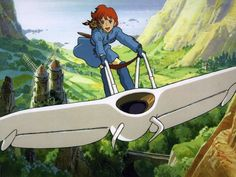 Nausicaa Of The Valley Of The Wind by Studio Ghibli.