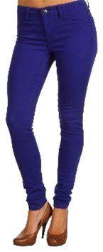 Pink Martini Cobalt Blue Skinny Jeans/Pants - size 6