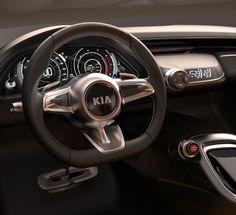 KIA GT Concept Steering Wheel