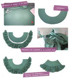 Parte III. Cómo hacer la Falda de un Vestido de Flamenca