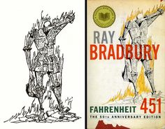: ' ' ' ( ---> Not many people understood the importance of books as much as you, Mr. Bradbury. RIP.