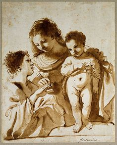 Old master drawings: Giovanni Francesco Barbieri, known as Guercino