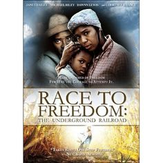 RACE TO FREEDOM: THE UNDERGROUND RAILROAD (1994) - BLACK HISTORY DVD